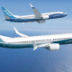 Boeing and Airbus suspend production.