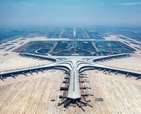 China opens a new airport